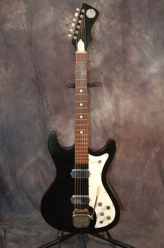 Truetone by Kay Vanguard style Double Pickups Double Cutaway 1966 Black | Reverb.com...Give us a call. Lawman Guitars 515-864-6136