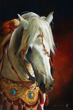 The Maghreb Cavalier   The Art of Linda Windell