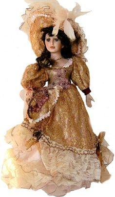 Victorian Porcelain Doll-Stunning Victorian doll-Porcelain Victorian Doll-Aadilah
