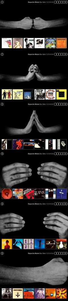 Depeche Mode 36CD Box Set Depeche Mode Albums, Dave Gahan, Story Of My Life, Cool Bands, Album Covers, My Music, Singer, Box, The World