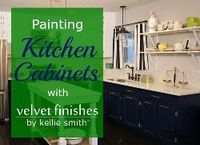 how to paint kitchen cabinets with velvet finishes, how to, kitchen cabinets, kitchen design, painting