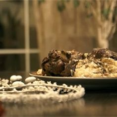 αρνάκι με ρύζι παραδοσιακό Θράκης International Recipes, Desserts, Tailgate Desserts, Deserts, Postres, Dessert, Plated Desserts