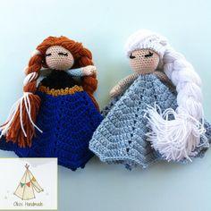 Anna and Elsa Loveys by Oikos Handmade