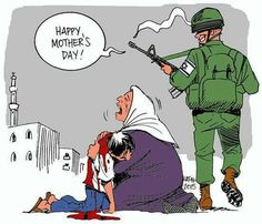 May every singel one of you involved in THIS war crime rot in hell! Satire, Heiliges Land, Political Comics, Israel Palestine, Happy Mothers Day, Crime, Children, Syria, Equality