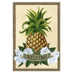 In The South, The Pineapple Represents Southern Hospitality And Welcome~ When Given As A Gift It Conveys Your Intention To Promote Friendliness And Graciousness To The Recipient.
