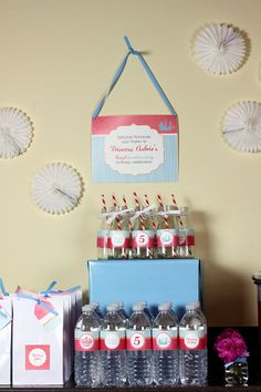 Princess and Pirate Birthday Party Ideas