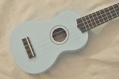 The Light Blue Mahalo Ukulele, available on Amazon. This was my starter Ukulele.