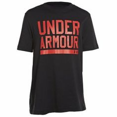 Under Armour graphic T-shirts are like other UA Tee's - performance is built into their DNA. This Kids Script T-shirt in Black/Red colourway is made from Charged Cotton® so it still has the familiar comfort of cotton, but dries much faster, ensuring you'll stay looking and feeling cool. http://www.performancesportsstuff.com/pr/1272/kids-charged-cotton-script-tee-blackred