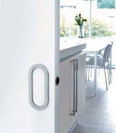 Sly sliding door pull 981300 Sliding Door Handles, Door Pulls, Sliding Doors, Pocket Doors, Sink, Mirror, Furniture, Stainless Steel, Home Decor