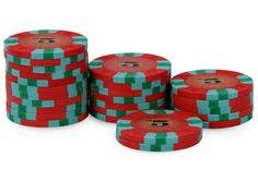 Rouleau de 25 jetons Nexgen Pro Classic $5 - Pokeo.fr - Rouleau de 25 jetons poker 100% clay (9,5g) Nexgen Pro Classic $5 rouge.
