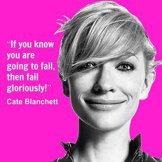 Cate Blanchett Quote | Flickr - Photo Sharing!