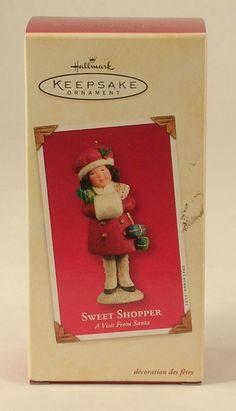 Hallmark Keepsake Ornament Sweet Shopper Dated 2003 New In Package