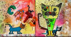 Cats 1 made by Erica