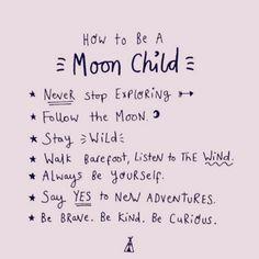 stay wild moon child  regram @mindbodygreen  #moonchild #teekigirls #moonlove #moon