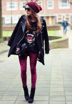 Great rocker look.  SN:   Those jeans!