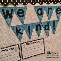 FREE! This freebie includes ideas and activities to incorporate kindness int the classroom! Includes a bulletin board set that documents acts of kindness! FREE!