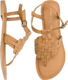 O'Neill San Sebastian Weave sandal. http://www.swell.com/New-Arrivals-Womens/ONEILL-SAN-SEBASTIAN-WEAVE-SANDAL?cs=TA