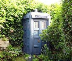Now THIS is a garden shed!!!