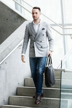 How to wear Blazer for men.. #mens #fashion #style