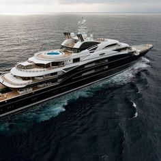Owning a luxury yacht is synonymous with power, extravagance, and money. In this article, you are going to see the 10 of the most expensive and dreamy luxury ya Yacht Design, Super Yachts, Yacht Luxury, Luxury Boats, Luxury Travel, Ibiza, Most Expensive Yacht, Bateau Yacht, Private Yacht