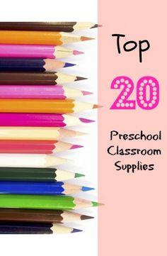Blog Ambassador Allie (No Time for Flash Cards) shares her top 20 classroom essentials