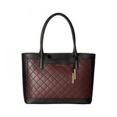 Calvin Klein Rum Black Saffiano Leather Key Item Tote - 19% Off Calvin Klein ec2eac019d731
