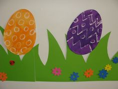 Easter egg surprise painting