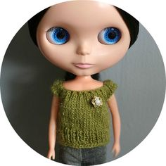 The little owl: Free Knitting pattern for Blythe