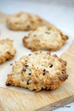 Koekjes die je volop kunt eten, gezond zijn en nog vullen ook! Vervang gerust de… Haverkoekjes met peer en chocola