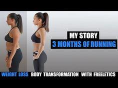 My 3 Month Bikini Body Weight Loss Transformation with Freeletics Running