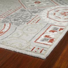 Felicity Grey Hand Tufted Wool Rug (7'6 x 9'0) | Overstock.com Shopping - Great Deals on 7x9 - 10x14 Rugs