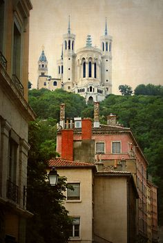 Lyon, France - Colline de Fourvière