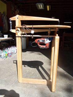 "Shop Made 25"" Scroll Saw - by William @ LumberJocks.com ~ woodworking community"