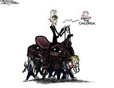 Rahm Emanuel recruits next generation to saddle the (debt) load in this cartoon - http://www.rebootillinois.com/2015/08/02/editors-picks/sstantis/rahm-emanuel-recruits-next-generation-to-saddle-the-debt-load-in-this-cartoon/42910/