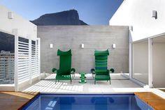 Attractive Brazilian Penthouse With Pool turquoise mosaic italian bisazza swimming pool