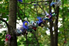 'Pacifiers Tree' When toddlers leave their pacifier behind Donadea Forest Park, Co Kildare - Ireland Pacifiers, Forest Park, Wind Chimes, Toddlers, Ireland, Outdoor Decor, Artist, Pictures, Trees