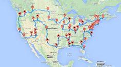 On the road: il viaggio perfetto calcolato da un algoritmo