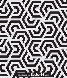 Скачать сток вектор бесшовные модели вектор обои бесплатно, современный стильный текстура и Повторяя геометрические плитки с гексагональной: