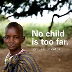 From the densest jungle to the driest desert, by foot, boat, plane or train. No child is too far. Join us today.