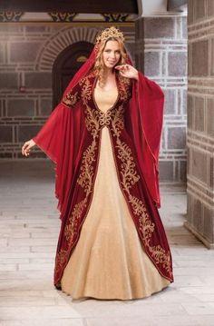 anolya - Prenses Bordo Bindallı 210