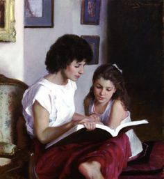 Story Hour by Allan R. Banks (1948-)