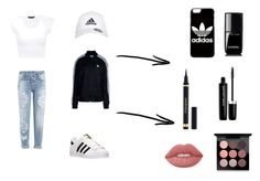 """""""#adidas"""" by mrgrdsantos ❤ liked on Polyvore featuring Dsquared2, adidas Originals, adidas, Lime Crime, Yves Saint Laurent, Marc Jacobs, Chanel and MAC Cosmetics"""