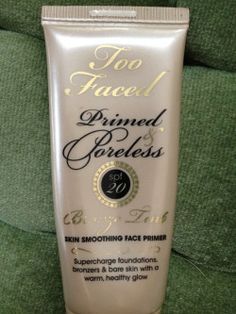 Makeup Monday Blog Love: Product Review: Too Faced Primed & Poreless - Bronze Tint