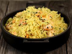 Orez indian cu creveti Indiana, Rice, Vegetarian, Cooking, Seafood, Recipes, Drinks, Salads, Kitchen