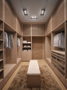 Elements for master closet.