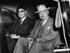 First Pakistani Prime Minister Liaquat Ali Khan and President Harry S. Truman