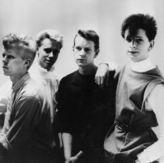 Depeche Mode early 80's with Vince
