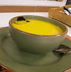 Sopa de Cenoura com Laranja e Especiarias