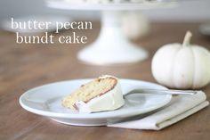 Butter Pecan Bundt Cake Recipe | 5 minutes, 1 bowl