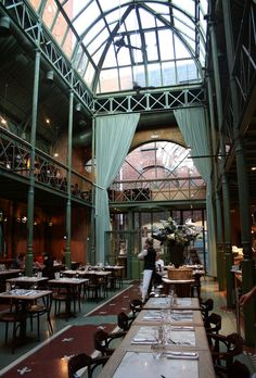 Ghent --Brasserie Pakhuis has style and atmosphere in abundance and its spectacular design is sure to impress.